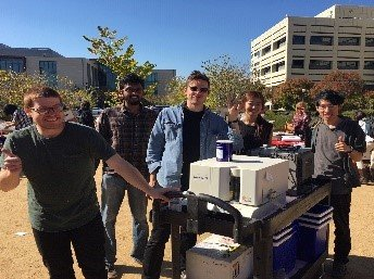 Students at Lab Share Event